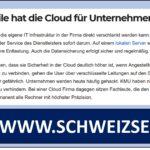 Cloud für Unternehmen – ist das die Zukunft?