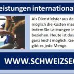 Dienstleistungen aus der EU oder anderen Ländern in die Schweiz importieren